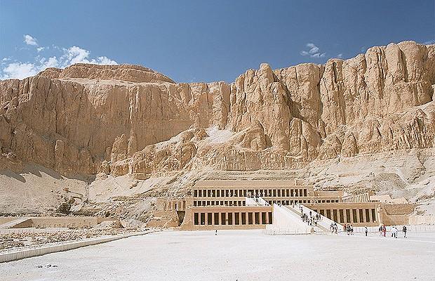 Templo de Hatshepsut (Foto: Creative Commons)