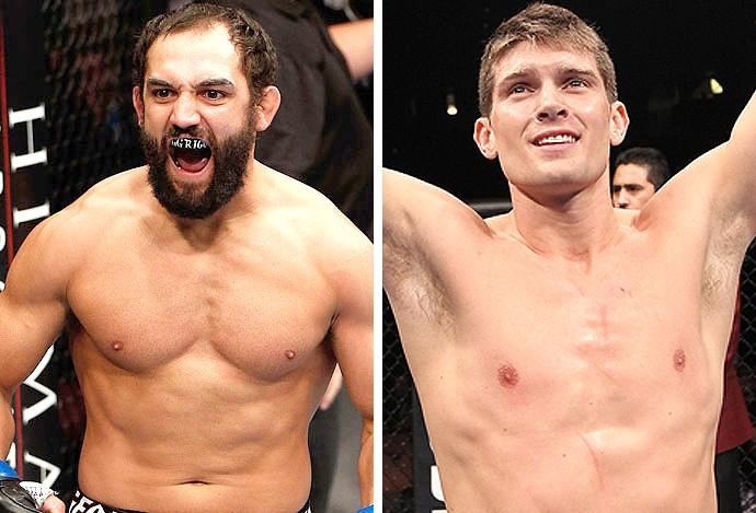 Montagem UFC Johny Hendricks x Stephen Thompson  (Foto: Editoria de arte)