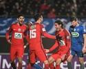 Na lama, Cavani e Pastore marcam, Lucas dá azar, e PSG avança na Copa