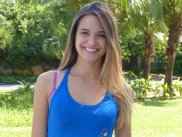 Ju Paiva diz que Fatinha é seu grande desafio profissional (Foto: Malhação / Tv Globo)