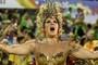 Beija-Flor resgata alma africana e canta a Guiné Equatorial (Rodrigo Gorosito/G1)