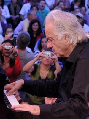 Maestro João Carlos Martins durante apresentação em Campinas (Foto: Luiz Granzotto / Prefeitura de Campinas)