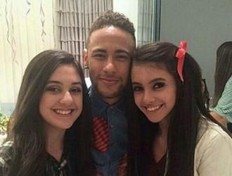Neymar em festa junina em SC (Foto: Instagram)