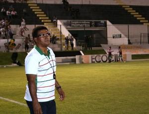 Samuel Cândido, técnico do Baraúnas (Foto: Augusto Gomes)
