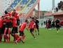 Albânia faz gol aos 44 e vence Macedônia em jogo parado por chuva