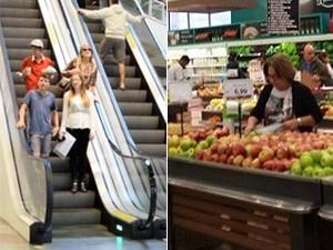 Supermercados e shoppings funcionam em horário especial no Espírito Santo (Foto: Montagem/ A Gazeta)