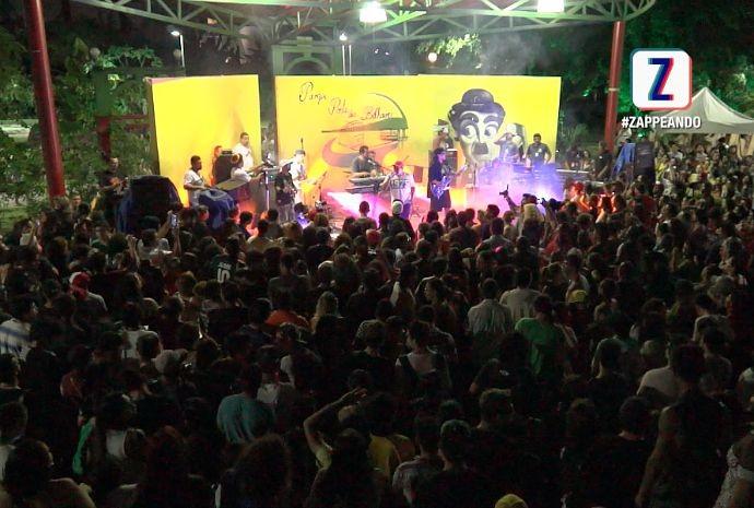 3º Malada Jam Festival ocorreu no Parque dos Bilhares, em Manaus (Foto: Zappeando)