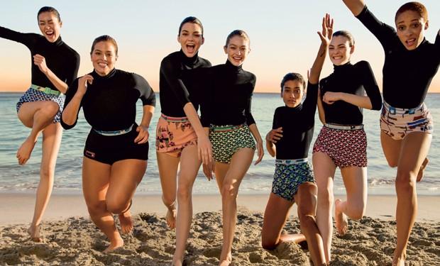 Tops posam para a Vogue US de março (Foto: Reprodução)
