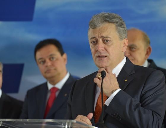 Aldemir Bendine, o novo presidente da Petrobras (Foto: Wilson Dias/ABr)