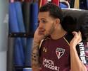 Wellington Nem treina no São Paulo, e Michel Bastos faz golaço; veja o lance