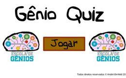 Gênio Quiz | Escola de Gênios