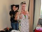 Confira os preparativos das candidatas no dia da final do Miss Bumbum Brasil 2014