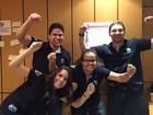 Paraibanos ficam em segundo lugar em competição latina sobre petróleo