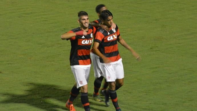 Flamengo comemoração gol Brasília Copa São Paulo Futebol Júnior (Foto: Vitor Geron)