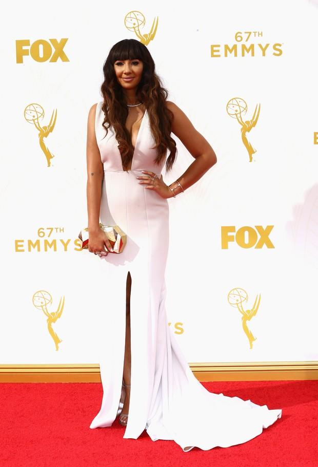 Jackie Cruz no Emmy Awards (Foto: Getty Images)