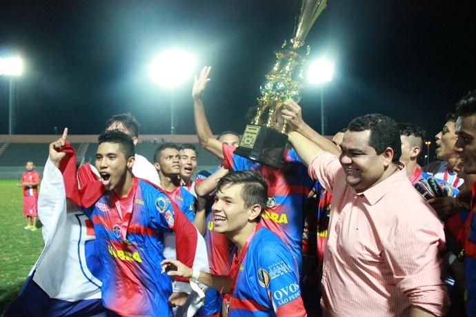 Fast conquistou Campeonato Amazonense Juvenil (Foto: Marcos Dantas)
