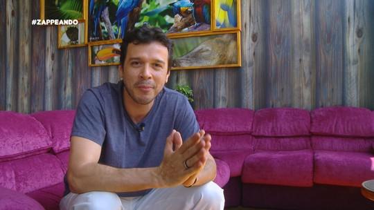 Denilson Novo relembra sua passagem pelo 'Zappeando', no 'Baú do Zapp'