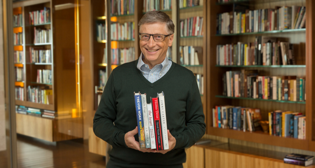 Bill Gates e suas leituras de verão (Foto: Reprodução/Gates Notes)