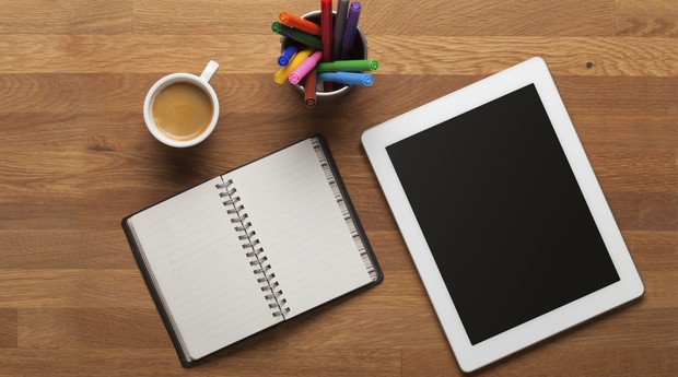 tablet, home office, escritorio (Foto: ThinkStock)
