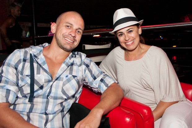 Daniela Escobar e Thiago Amaral (Foto: Gutá/ Divulgação)