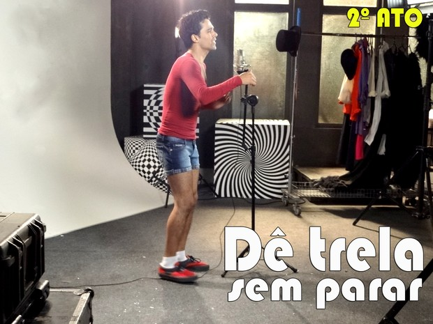 2º Ato: dance, dance, dance (Foto: Sangue Bom/TV Globo)