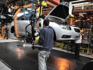 Fábrica da GM em São Caetano do Sul (Foto: Divulgação)