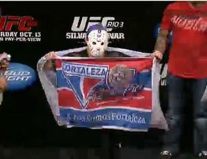 Rony Jason pesagem UFC Rio III (Foto: Reprodução/Youtube)