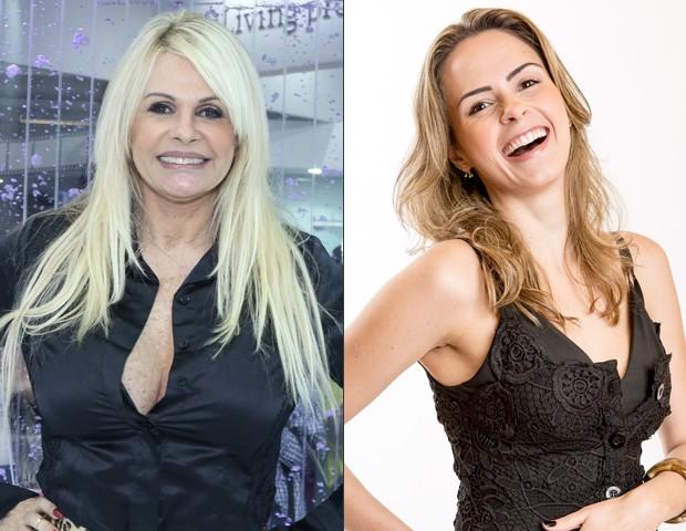 Monique Evans e Ana Paula Renault (Foto: Ag. News / Globo)