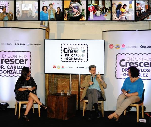 Clique para ver as fotos do Encontros Crescer Dr. Carlos González (Foto: Sylvia Gosztonyi/ Editora Globo)