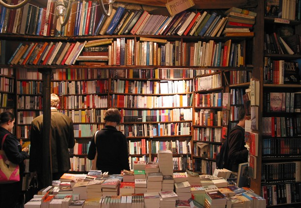 Livraria ; livros ;  (Foto: Reprodução/Facebook)