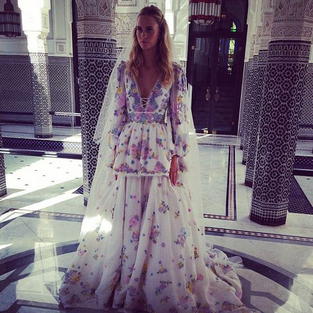 Ao Maroc: Poppy Delevingne E James Cook Celebram União Em