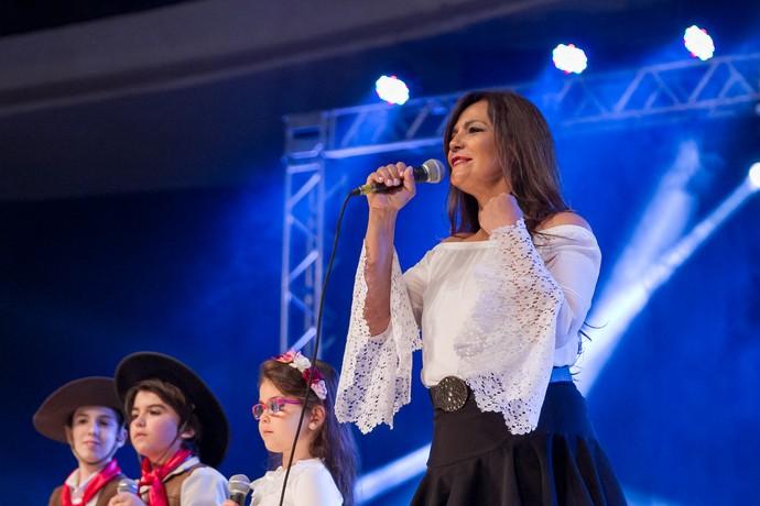 Cristina Sorrentino, Especial de Natal, Gapão Crioulo (Foto: Maicon Hinrichsen/Divulgação RBS TV)