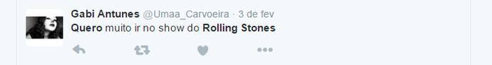 rolling stones quero (Foto: Reprodução)