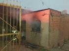 Casa pega fogo e Defesa Civil interdita imóvel em Piracicaba; sem feridos