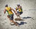 Bruno e Alison perdem, mas Brasil vai à semifinal com duas duplas nos EUA