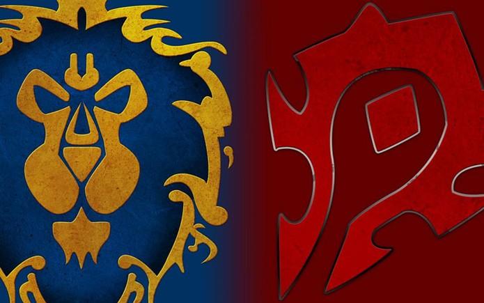 Horda e Aliança, as duas facções de Warcraft (Foto: Divulgação/Blizzard)