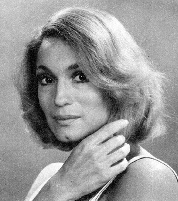 Susana Vieira em 1976, na época de 'Anjo Mau' (Foto: Reprodução/Instagram)