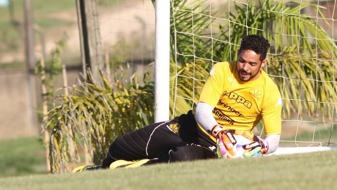 Luiz Criciúma goleiro (Foto: Fernando Ribeiro/www.criciumaec.com.br)