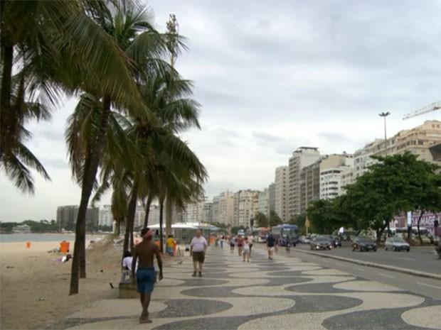 Rio pode ter chuva forte nesta quinta-feira (5) (Foto: Reprodução/TV Globo)