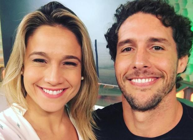 Fernanda Gentil e Flávio Canto (Foto: Reprodução/Instagram)