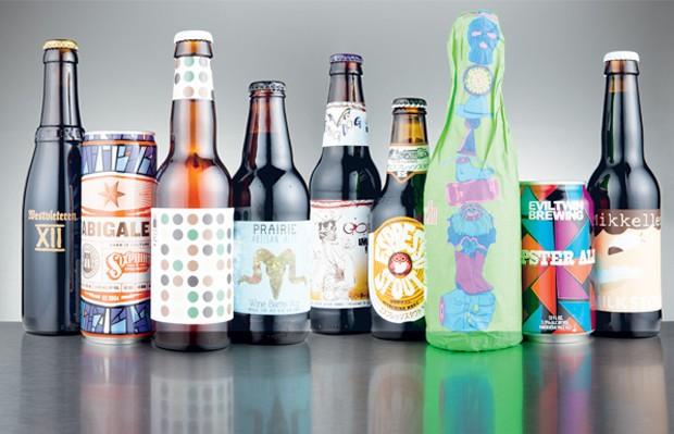 O sabor extra: rótulos que dão um banho nas cervejarias tradicionais