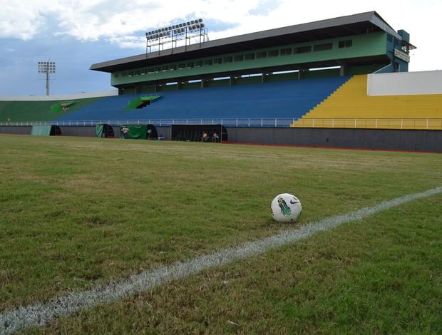 Estádio Antônio Aquino, o Florestão, em Rio Branco (Foto: João Paulo Maia)