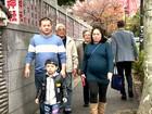 Família que mora em Saitama, perto de Tóquio, é fã assídua do Hora 1