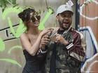 Com Bieber no Brasil, Selena Gomez viaja para Argentina com The Weeknd