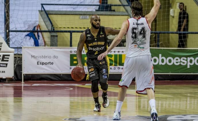 Liga Sorocabana LSB x Mogi das Cruzes, NBB 8, Larry Taylor (Foto: Murilo Amadei / LSB)