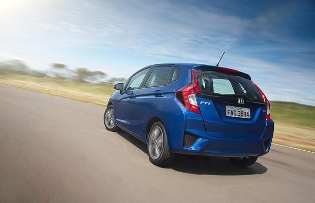 Honda Fit EXL (Foto: Fabio Aro/Autoesporte)
