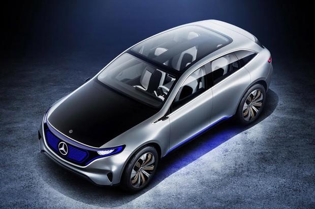 Mercedes EQ C conceito  (Foto: Divulgação)