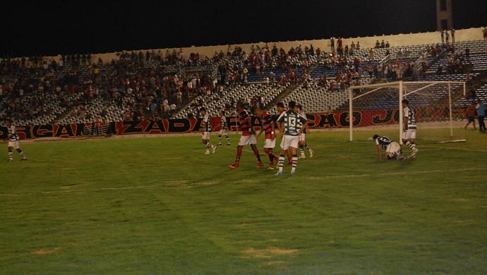 Campinense x Sport Campina, Amigão (Foto: Silas Batista / GloboEsporte.com/pb)