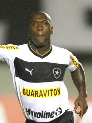 Seedorf comemora gol do Botafogo contra o Atlético-GO (Foto: Carlos Costa / Futura Press)