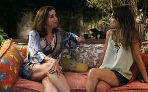 Calada Noite, Marisa Orth, Sarah Oliveira